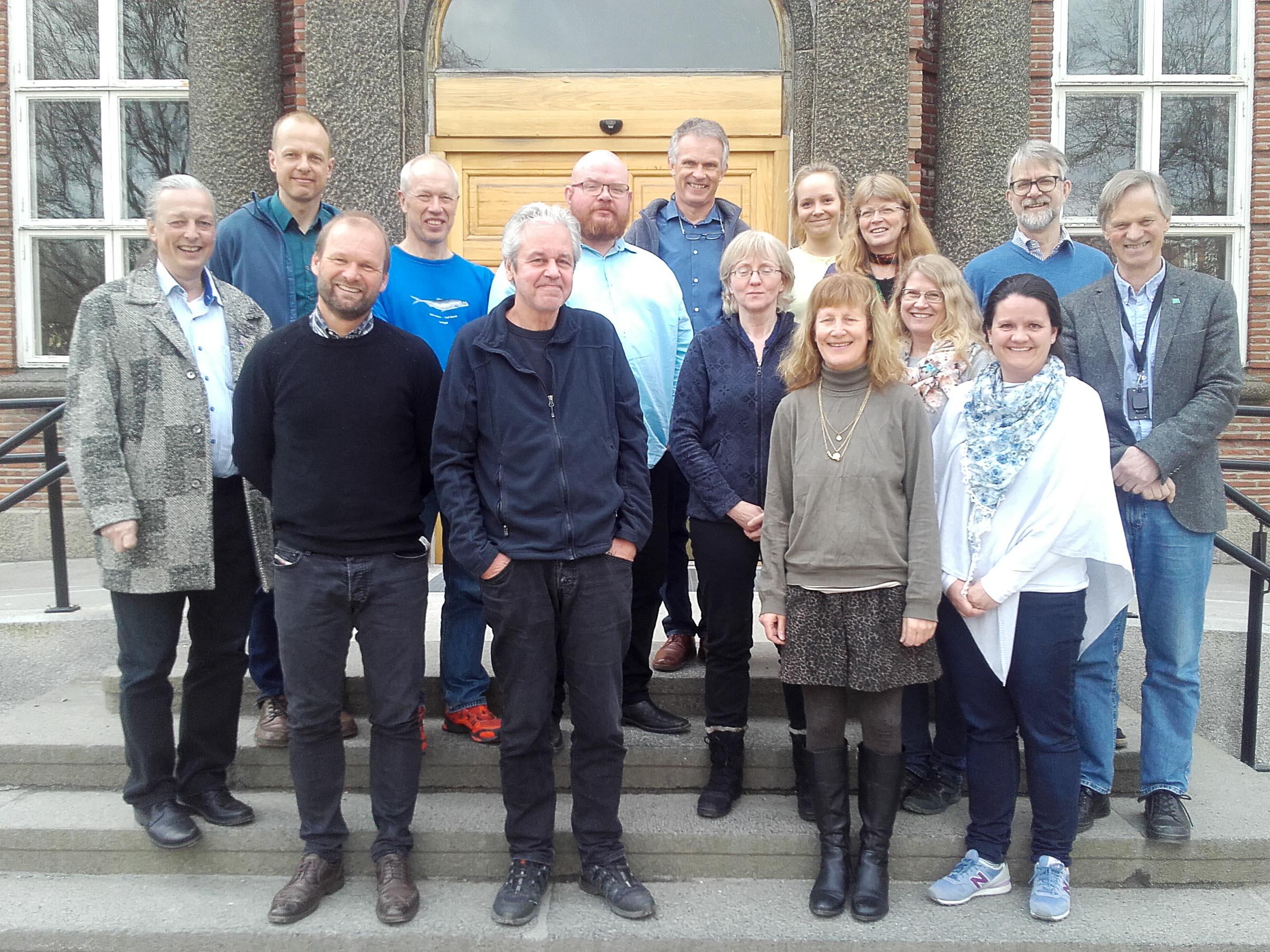 Bilde fra første samling i forumet, avholdt ved NMBU i mars 2016.